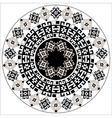 ottoman serial patterns four vector image