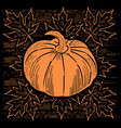thanksgiving day in united states of america vector image vector image
