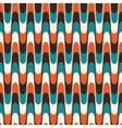 Vintage wavy pattern vector image