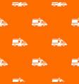 ambulance pattern seamless vector image vector image