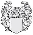 aristocratic emblem No11 vector image vector image