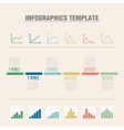 Infographic timeline vector image vector image