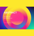 modern futuristic gradient layout cover vector image