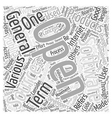 Open Source Word Cloud Concept vector image vector image