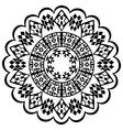 ottoman serial patterns seven vector image vector image
