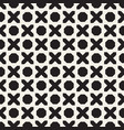 seamless geometric pattern contrast abstract vector image vector image
