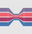 template banners with colorful lines vector image