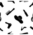 women accessories black and white seamless vector image vector image