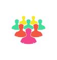 Crowd Icon vector image