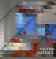 abstract geometric background from brown and gray vector image
