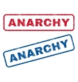 Anarchy Rubber Stamps vector image