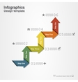 Banner infographic design template vector image vector image