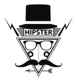 Hipster Logo Style vector image