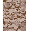military desert camouflage tileable vector image vector image