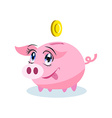 Moneybox Clipart vector image vector image