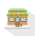 sweets shop vector image