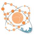 Basketball Concept Poster vector image