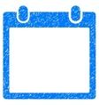 Calendar Frame Grainy Texture Icon vector image