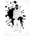 classy man vector image vector image