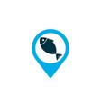 geolocation icon colored symbol premium quality vector image