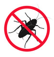 insect and pest control symbol vector image