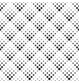 retro abstract seamless black and white dot vector image vector image