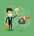successful business idea vector image