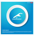 airplane accident icon vector image
