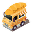 bakery machine icon isometric style vector image vector image