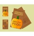 farm fresh flyer template or brochure design vector image vector image