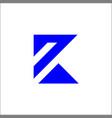 k logo initials letter k sign and symbol vector image vector image