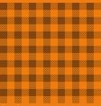 orange lumberjack seamless pattern vector image