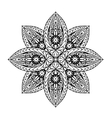 Ornament ethnic mandala vector image