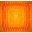Square orient ornament background vector image vector image