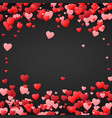 valentines day background design for wedding vector image vector image