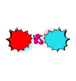 Versus letters fight backgrounds comics style desi