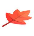 viburnum tree leaf icon isometric style vector image vector image