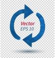 Watercolor arrows vector image