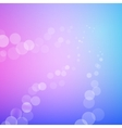 Abstract bokeh sparkle rays on blurred background vector image