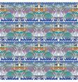 floral elegance seamless pattern light colorful vector image
