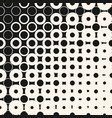 halftone seamless pattern with circles dots vector image vector image