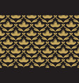 seamless ethnic floral pattern vector image vector image