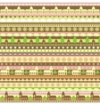 Seamless pattern with colorful strips and vector image vector image