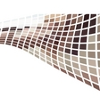 vector brown abstract background vector image vector image
