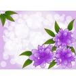 vector flowers vector image