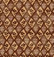 Ethnic tribal geometric seamless pattern vector image