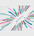 abstract stripe lines pattern of colorful motion vector image