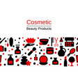 background with spa icons background with spa vector image vector image