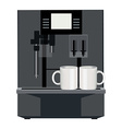 Coffee machine vector image vector image