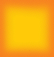 halftone color cartoon retro background theme vector image vector image